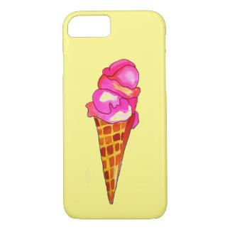 Funda Para iPhone 8/7 arte lindo de la comida del gelato del helado