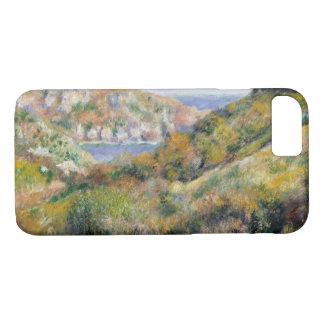 Funda Para iPhone 8/7 Auguste Renoir - colinas alrededor de la bahía