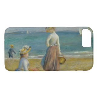 Funda Para iPhone 8/7 Auguste Renoir - figuras en la playa