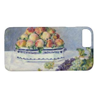 Funda Para iPhone 8/7 Auguste Renoir - todavía vida con los melocotones