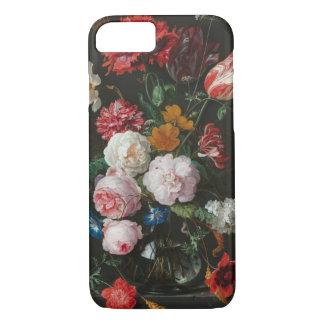 Funda Para iPhone 8/7 Aún caja floral oscura del teléfono de la vida