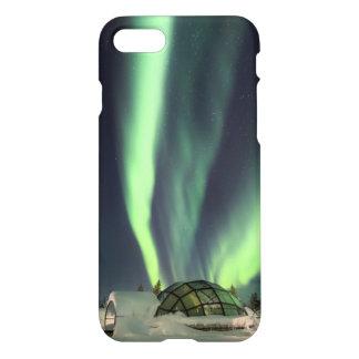 Funda Para iPhone 8/7 Aurora boreal sobre Finlandia