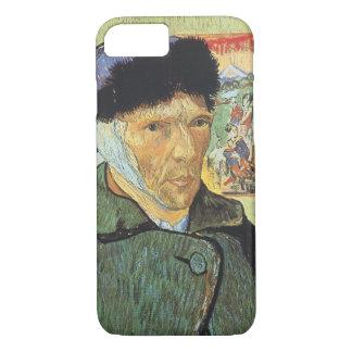 Funda Para iPhone 8/7 Autorretrato, oído vendado de Vincent van Gogh