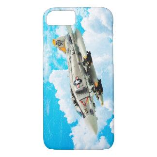 "Funda Para iPhone 8/7 Aviation Art Device Cass  ""F- 4 Phantom II"""