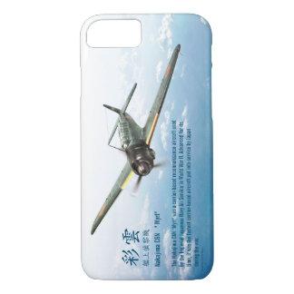 """Funda Para iPhone 8/7 Aviation Art Device Cass  """"Nakajima C6N Myrt"""""""