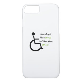 Funda Para iPhone 8/7 Ayuda del amor de la silla de ruedas del regalo de
