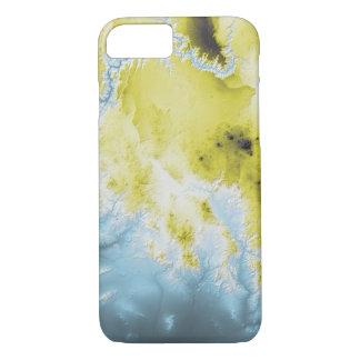 Funda Para iPhone 8/7 Azul abstracto del barranco magnífico de las