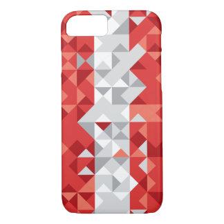 Funda Para iPhone 8/7 Bandera abstracta de Austria, caja austríaca del