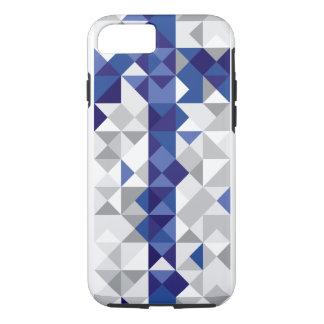 Funda Para iPhone 8/7 Bandera abstracta de Finlandia, colores