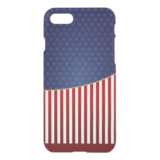 Funda Para iPhone 8/7 Bandera americana, caso del iPhone 7