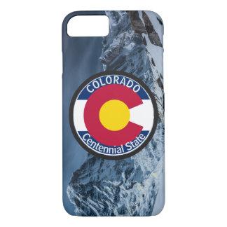 Funda Para iPhone 8/7 Bandera de la circular de Colorado