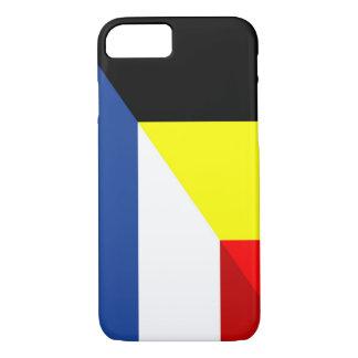 Funda Para iPhone 8/7 bandera de país de la bandera de Bélgica del