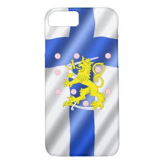 Funda Para iPhone 8/7 Bandera finlandesa