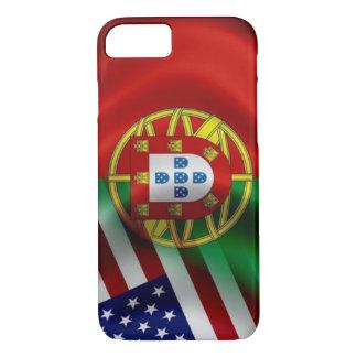 Funda Para iPhone 8/7 Bandera Iphone de Portugal/USA