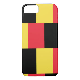 Funda Para iPhone 8/7 Bandera nacional de Bélgica
