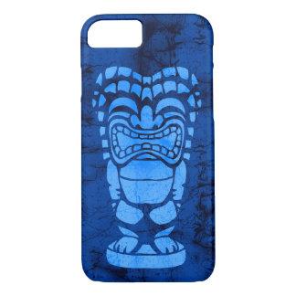 Funda Para iPhone 8/7 Batik de risa hawaiano de Tiki de la playa de