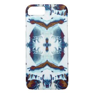 Funda Para iPhone 8/7 batik tribal azul del modelo bohemio exótico