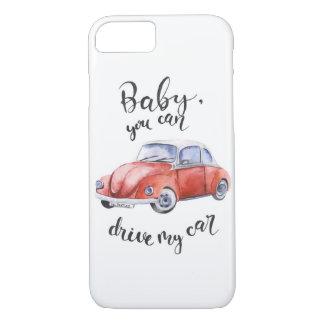 Funda Para iPhone 8/7 Bebé, usted puede conducir mi coche