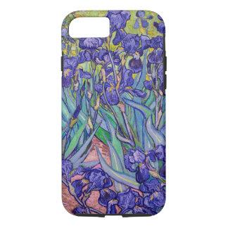 Funda Para iPhone 8/7 Bella arte de Vincent van Gogh de los iris
