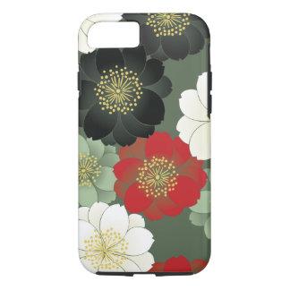 Funda Para iPhone 8/7 Bella arte floral del japonés del modelo del