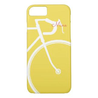 Funda Para iPhone 8/7 Bicicleta abstracta