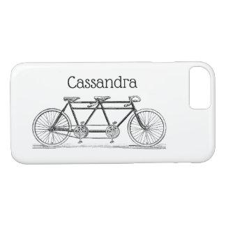 Funda Para iPhone 8/7 Bicicleta del vintage construida para dos/bici en