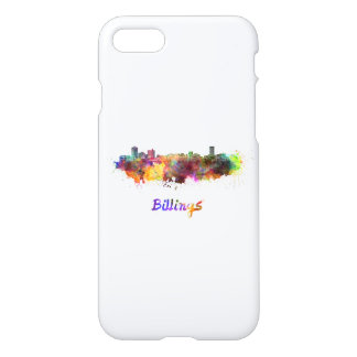 Funda Para iPhone 8/7 Billings skyline in watercolor