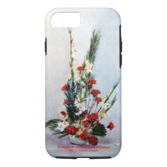 Funda Para iPhone 8/7 Bodegón de flores/Still life of flowers