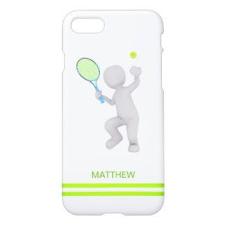 Funda Para iPhone 8/7 bola de la estafa de tenis del jugador de tenis 3D