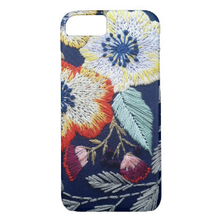 Funda Para iPhone 8/7 Bordado de flores