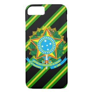 Funda Para iPhone 8/7 Brazos de la capa del Brasil