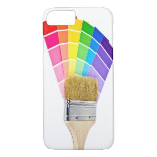 Funda Para iPhone 8/7 brocha en colores de la pintura