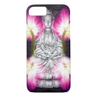 Funda Para iPhone 8/7 Buda y tulipanes serenos