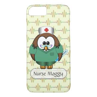 Funda Para iPhone 8/7 búho de la enfermera