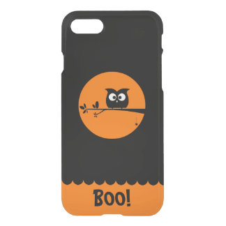 Funda Para iPhone 8/7 Búho lindo de Halloween con colores modificados