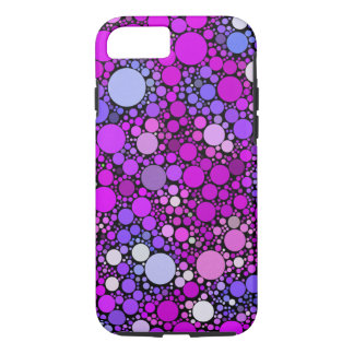 Funda Para iPhone 8/7 Burbujas alegres, rosadas