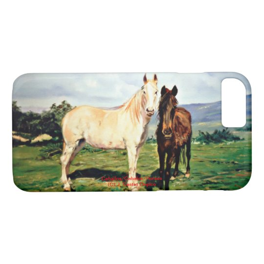 Funda Para iPhone 8/7 Caballos/Cabalos/Horses