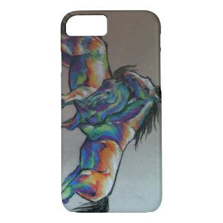 Funda Para iPhone 8/7 Caballos del arco iris