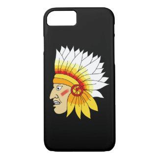 Funda Para iPhone 8/7 Cabeza india roja