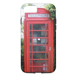 Funda Para iPhone 8/7 Cabina de teléfonos roja inglesa vieja