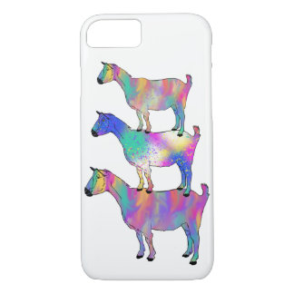 Funda Para iPhone 8/7 Cabra que se coloca en arte animal psicodélico