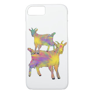 Funda Para iPhone 8/7 Cabra que se coloca en arte animal psicodélico de