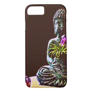 Funda Para iPhone 8/7 Caja Amethyst del iPhone de Buda Barely There