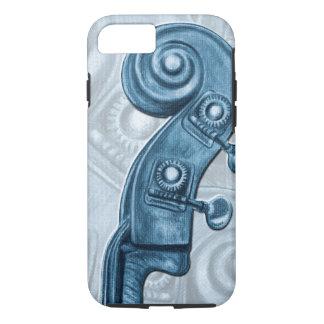 Funda Para iPhone 8/7 Caja azul del iPhone 7 de la voluta del cabezal