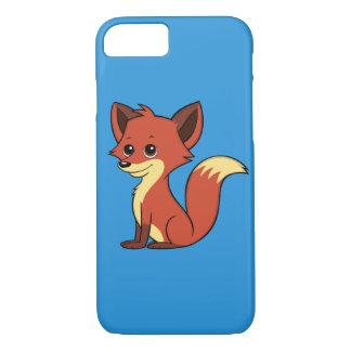 Funda Para iPhone 8/7 Caja azul del iPhone 7 del Fox del dibujo animado