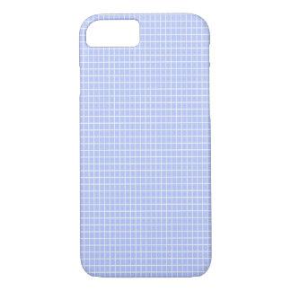 Funda Para iPhone 8/7 Caja azul del teléfono de los cuadrados
