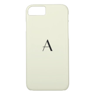 Funda Para iPhone 8/7 Caja beige en colores pastel femenina del iPhone 7