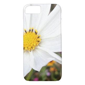 Funda Para iPhone 8/7 Caja blanca del iPhone de la flor del cosmos