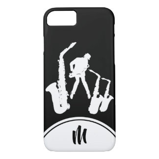 Funda Para iPhone 8/7 Caja blanca del iPhone del monograma B del