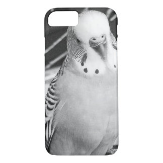 Funda Para iPhone 8/7 Caja blanco y negro del pájaro